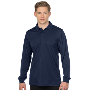 Stalwart Men's Long Sleeve Snag-Resistant Polo